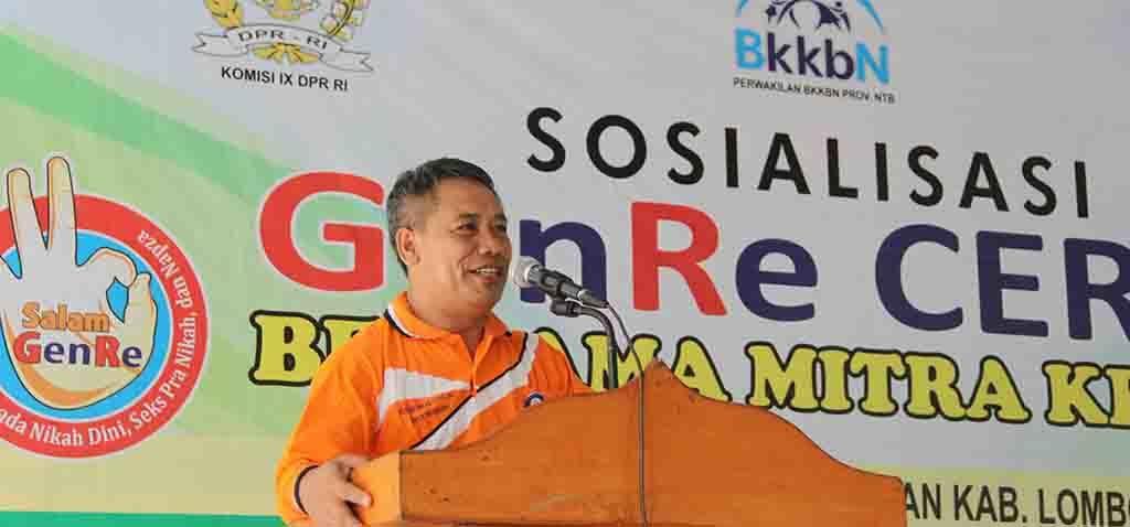 Kepala Perwakilan BKKBN Provinsi NTB Dr. L. Makripuddin M.Si