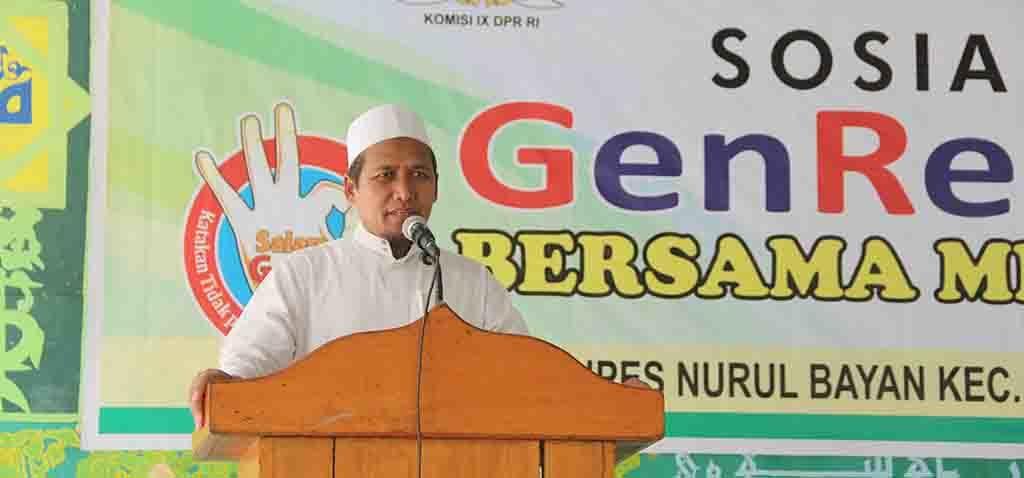 Pimpinan Ponpes Nurul Bayan, KH. Abdul Karim