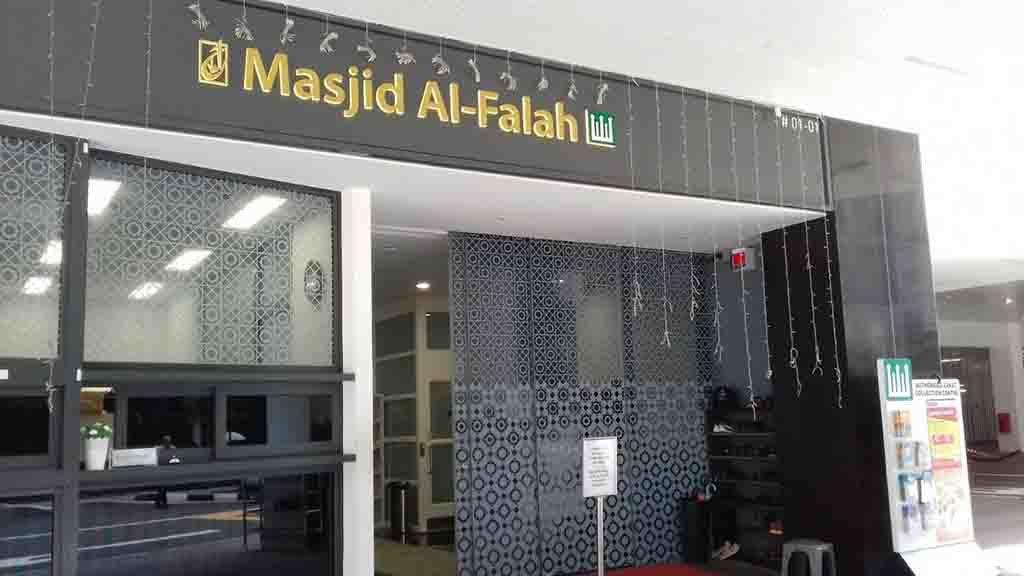 Masjid Al-Falah di Singapura.
