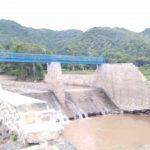 Dam yang dibangun untuk penahan banjir tahun 2017 lalu yang rusak dan sedang dilidik Kejaksaan. (Suara NTB/ist_gem)