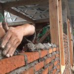 Ilustrasi pembangunan rumah korban gempa(Suara NTB/cem)