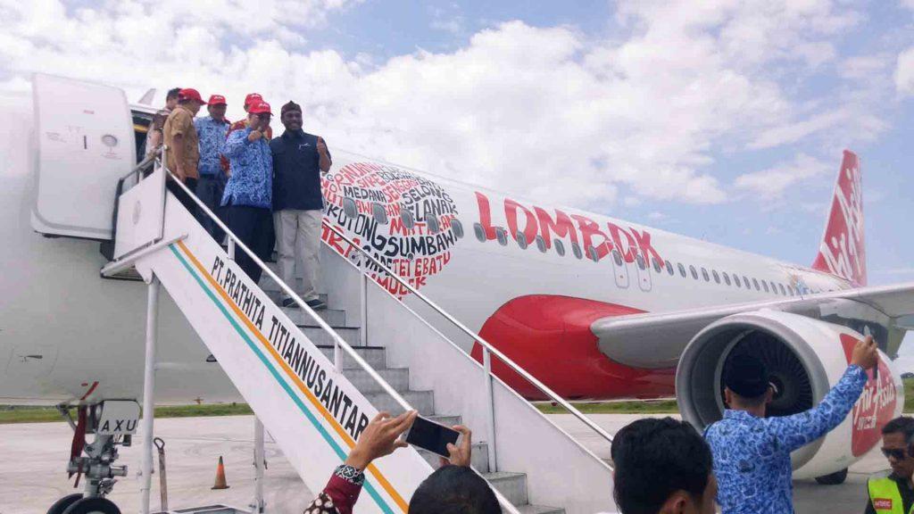 Airasia Luncurkan Lima Rute Domestik Jakarta Lombok Cuma
