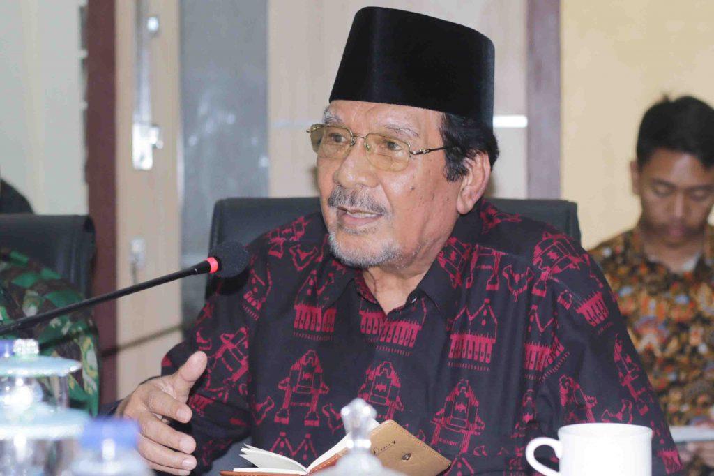 Ketua Majelis Ulama Indonesia (MUI) Provinsi NTB, Prof. Saiful Muslim