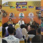 Masyarakat antusias menjadi peserta kegiatan sosialisasi konsumen cerdas BBPOM Provinsi NTB. Beberapa peserta sosialisasi terpilih mendapatkan doorprize dari BBPOM.