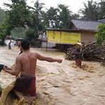 Ilustrasi banjir bandang di NTB. (Suara NTB/dok)