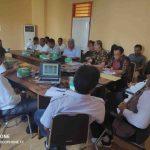 Suasana pembahasan penandatanganan kesepakatan memperkuat mitigasi bencana dipimpin Kepala BPBD NTB H. Ahsanul Khalik, dihadiri 10 BPBD kabupaten dan kota. (Suara NTB/ist)