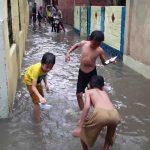 Ilustrasi banjir di Kota Mataram (Suara NTB/viq)