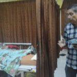 Salah satu penderita kasus DBD di Mataram tengah dirawat di RSUD kota Mataram, Jumat, 13 Maret 2020. Sampai saat ini, belum pasien meninggal akibat menderita kasus DBD di Mataram. (Suara NTB/viq)