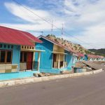 Deretan rumah nelayan program bantuan Kementerian PUPR tahun 2019 ini sudah siap ditempati. (Suara NTB/ist)