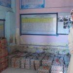 Bantuan JPS Gemilang yang mulai didistribusikan ke masyarakat di Lotim. Tampak bansos JPS Gemilang di di Kantor Desa Danger Kecamatan Masbagik. (Suara NTB/yon)