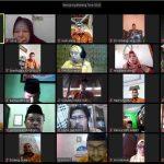 Suasana Rakornas Virtual AGPAII bersama guru PAI di Indonesia, Kamis, 9 April 2020. (Suara NTB/ist)